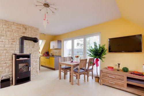 Ferienwohnungen für 4+1 Personen im Strand-Ferienhaus